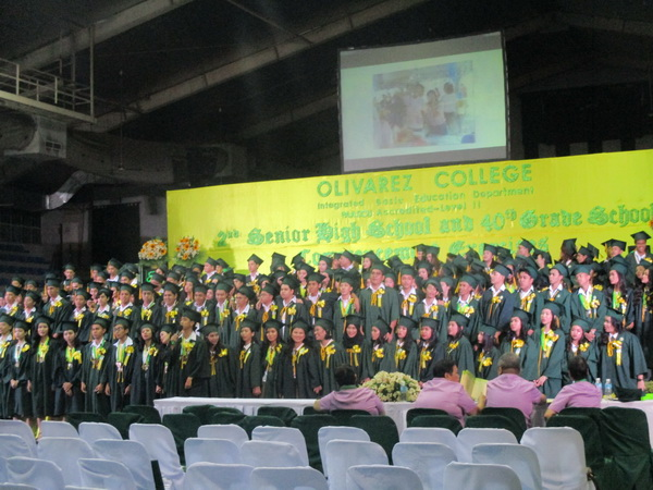 news-OC Holds 40th Grade School and 2nd IBED Senior High School  Commencement Exercises ?>